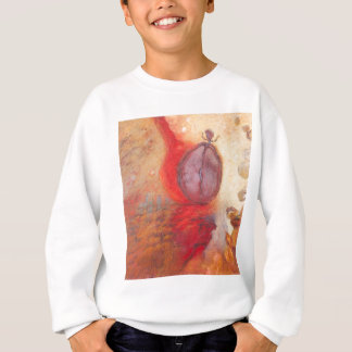 Fire Dance abstract oil painting Sweatshirt