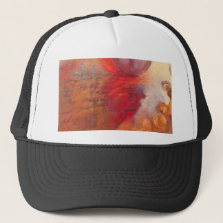 Fire Dance abstract oil painting Trucker Hat