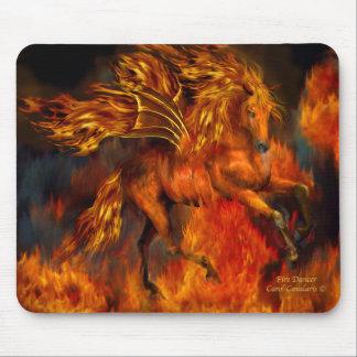 Fire Dancer Fantasy Mousepad