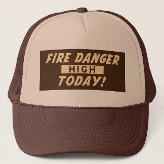 Fire Danger High Today! Prevent Wildfires Trucker Hat