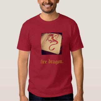 fire dark dragon shirt