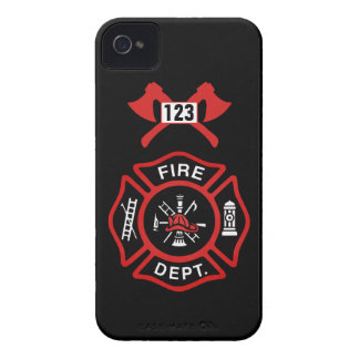Fire Department Badge Case-Mate iPhone 4 Case