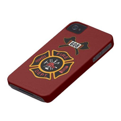 Fire Department Badge Blackberry Bold Case