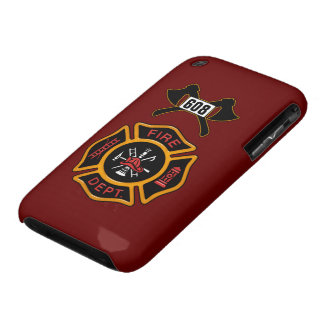 Fire Department Badge Case-Mate iPhone 3 Cases