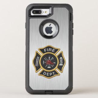 Fire Department Badge Deluxe OtterBox Defender iPhone 7 Plus Case
