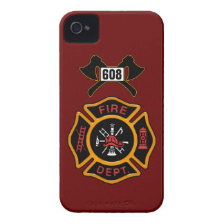 Fire Department Badge iPhone 4 Case-Mate Cases