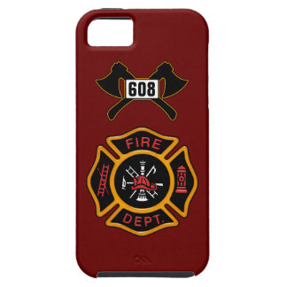 Fire Department Badge iPhone 5 Case