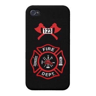 Fire Department Badge iPhone 4 Case