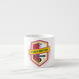 Fire Department Crest Espresso Cup