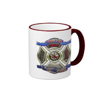 Fire Department Crest Mugs