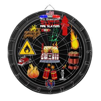 Fire Department Dartboard