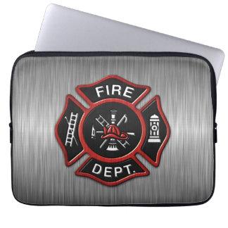 Fire Department Deluxe Laptop Computer Sleeve