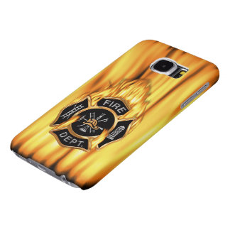 Fire Department Flames Samsung Galaxy S6 Cases