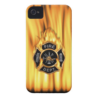 Fire Department Flames iPhone 4 Cases