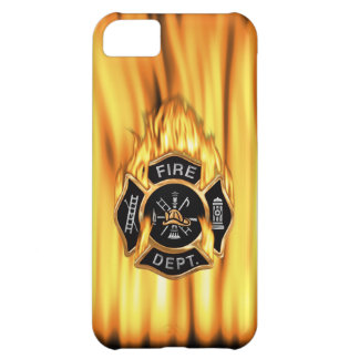 Fire Department Flames iPhone 5C Case