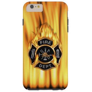 Fire Department Flames Tough iPhone 6 Plus Case
