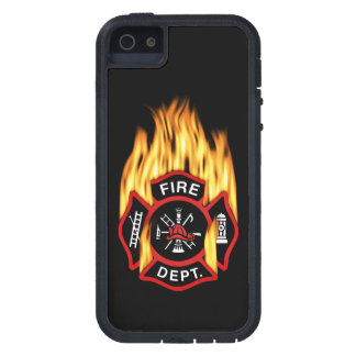 Fire Department Flaming Badge iPhone 5 Cover