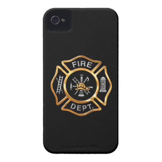 Fire Department Gold Badge Blackberry Bold Covers