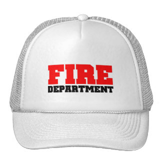 Fire Department Trucker Hat