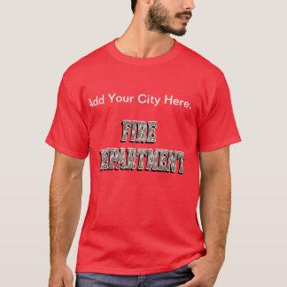 Fire Department Shirt. T-Shirt