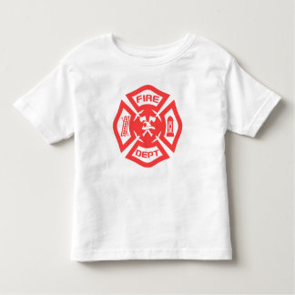 Fire Department Toddler T-Shirt