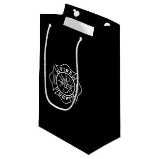 Fire Dept / Firefighter Maltese Cross Gift Bag