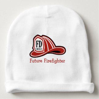 Fire Dept Future Firefighter Baby Beanie