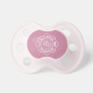 Fire Dept Maltese Cross 0-6 months Pacifier