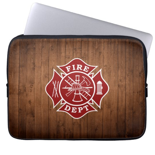 Fire Dept Maltese Cross Laptop Bag