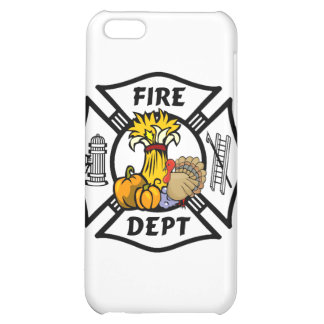 Fire Dept Thanksgiving Logo Case For iPhone 5C