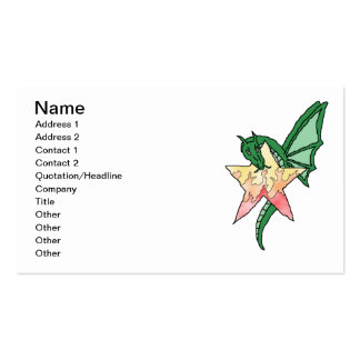 Fire Dragon Business Cards