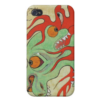 Fire Dragon Case For iPhone 4