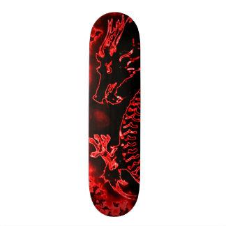 Fire Dragon Element Custom Pro Park Board 21.6 Cm Skateboard Deck
