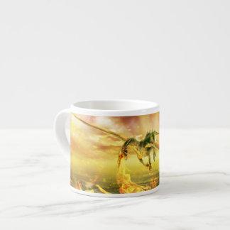 Fire Dragon Espresso Cup