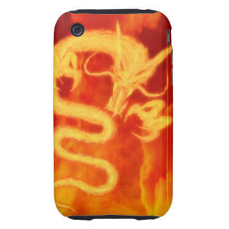 Fire Dragon iPhone 3 Tough Cases
