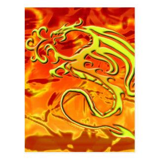 Fire Dragon Postcard