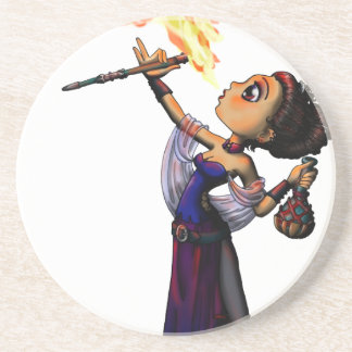 Fire Eater Drink Coasters