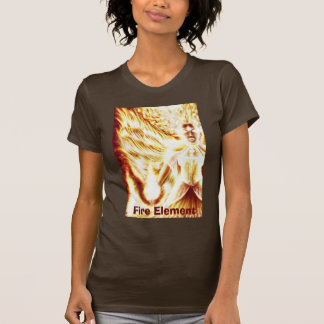 Fire Elemental Women T-Shirt M by Nellis Eketorp