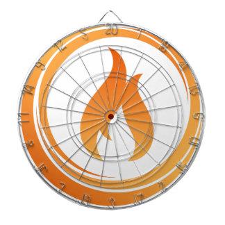Fire Elements Dartboard
