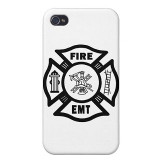 Fire EMT iPhone 4/4S Covers