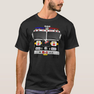 Fire Engine Coming and Going T-Shirt