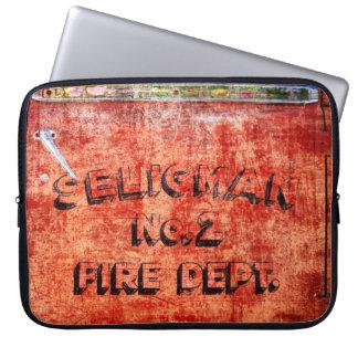 Fire Engine Door Laptop Sleeve