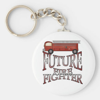 Fire Engine Future Firefighter T-shirts and Gifts Key Ring