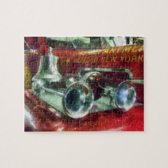 Fire Engine Horns and Bell Jigsaw Puzzle