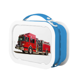 Fire Engine image for Blue-yubo-Lunch-Box Lunch Box