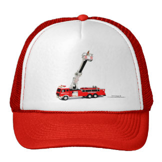 Fire Engine image for Trucker-Hat Cap