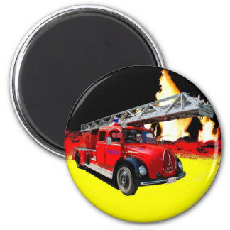 Fire engine magnet