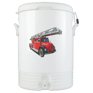 Fire engine of the 50erJahre Drinks Cooler