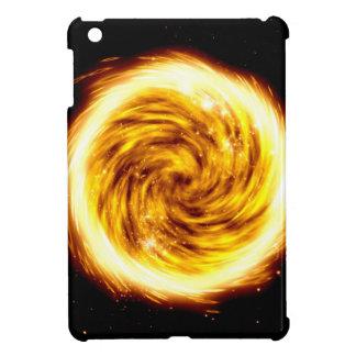 Fire explosion iPad mini cover