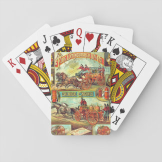 Fire Extinguisher Ad 1880 Deck Of Cards
